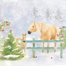 7292 Christmas Horses