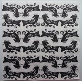 4863 Vogels in zwart-wit