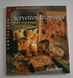 Servettendecoraties met chemage