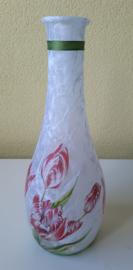 Fles : Rode Tulpen