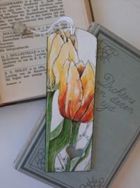 Boekenlegger Tulp