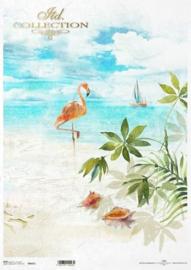 ITD rijstpapier  Flamingo