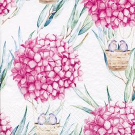 7371a Hortensia ballon roze