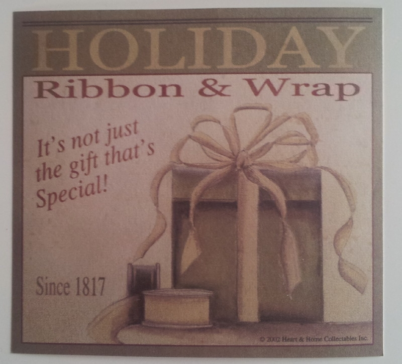 VL0408 Holiday Ribbon