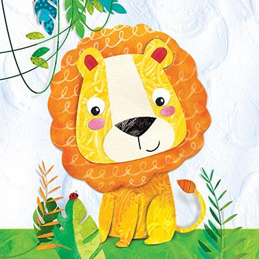 6327  Happy Lion