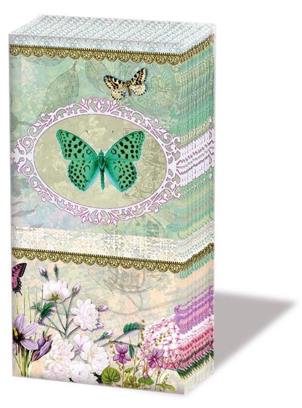 Zp0552 Butterfly Medaillon (pakje)