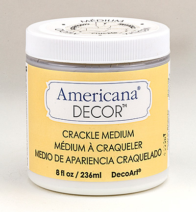 Americana decor Crackle Medium