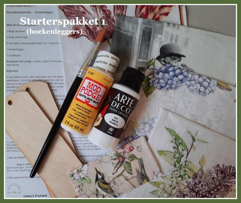 Starterspakket 1 (boekenlegger)