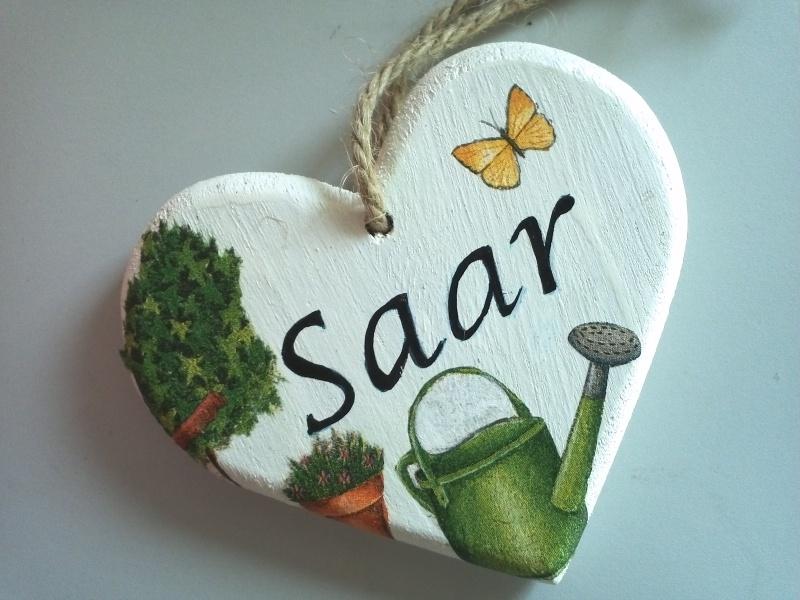 HG0615 hartvormig naambord (klein)