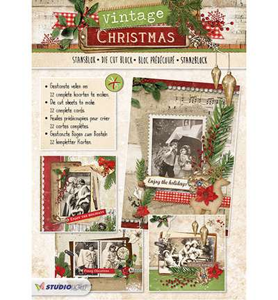 36284 Stansblock Vintage Christmas