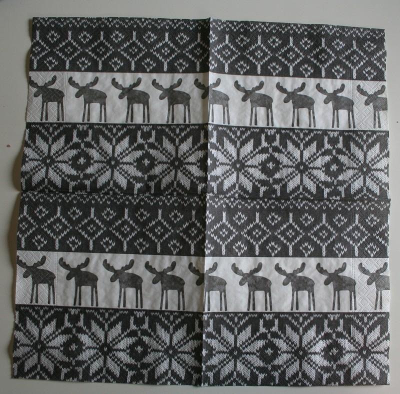 4140 Noors patroon met rendieren