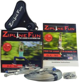 Kabelbaan topmodel  ZLX voor particulieren