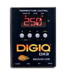 DigiQ DX3 BBQ Temperatuurregelaar