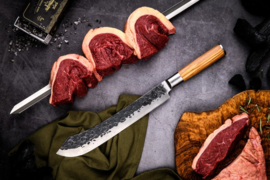 Forged Churrasco Spies 70 cm