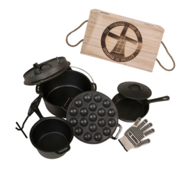 The Windmill Cast Iron Set