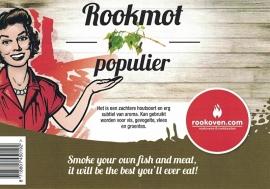 Rookmot Populier 500g