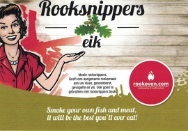 Rooksnippers Eik 500g