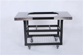 Primo Cart met RVS Zijtafels Ovaal XL
