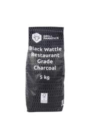 Black Wattle Houtskool FSC - 5 KG