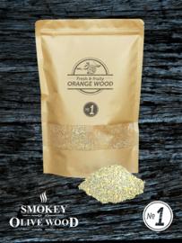 Smokey Olive Wood Sinaasappelhout Rookmot Fijn Nº1 (1,5L)