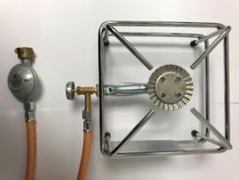 Gasbrander 2.5 kW, regelbaar