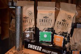 Starter Pakket Cold Smoker + 3 x 1kg Smokey Pellets