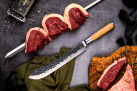 Olive Forged Butcher Knife