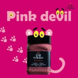 No Rubbish Pink Devil