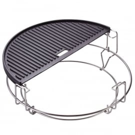 Half Moon Cast Iron (Gietijzer) Reversible Griddle (Big Joe)