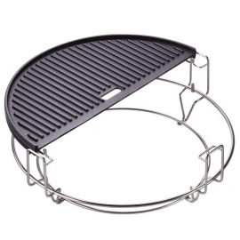 Cast Iron Reversible Griddle (Classic Joe)