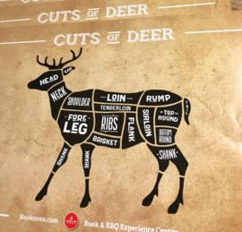 Poster 'Cuts of Deer'