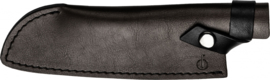 Forged Leather Santoku 18 cm Hoes