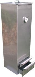 Authentieke bovenlader rookkast 30x30x100cm (rvs)