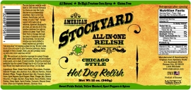 Stockyard BBQ Sauce - Chicago Style Hot Dog Relish *NIEUW!*