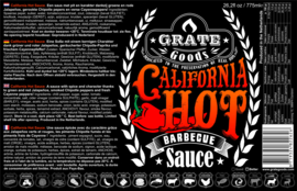 Grate Goods California Hot Barbecue Sauce (265ml)
