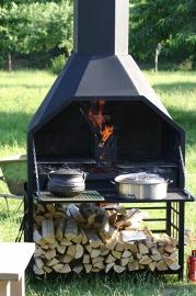 Home Fires Suprême de Luxe 1200 Vrijstaand model