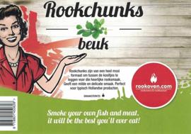 Rookchunks Beuk (1 kg)