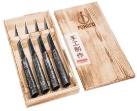 Intense Forged 4-part Steak Knives Set / 4-delige Steakmessenset