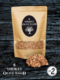 Smokey Olive Wood rookchips Nº2