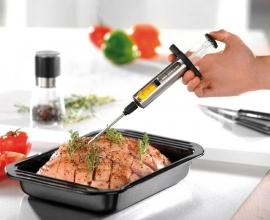 Gefu Vlees/Marinade Injector 45 ml rvs