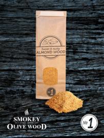 Smokey Olive Wood Amandelhout rookmot Nº1 (300ml)