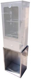 Onderstel/Opzetkastje RVS (geschikt voor diverse rookovens)