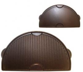 Half Moon gietijzeren bak- grillplaat plancha Large (BGE)