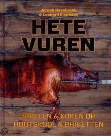 Boek ''Hete Vuren'' van Jeroen Hazebroek en Leonard Elenbaas