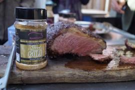 """#Porkmafia """"Texas Gold"""" Signature Rub voor Beef"""