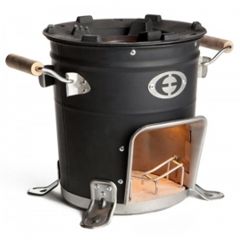 Ultimate Rocket stove black