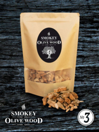 Smokey Olive Wood rookchips Nº3