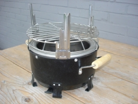 Inox BBQ grid, 3 levels compact for CH serie