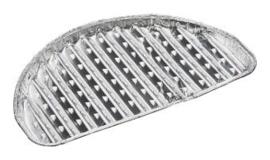 Aluminium grillschaal