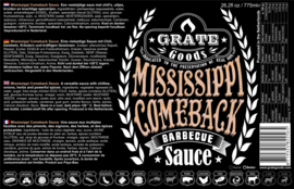 Grate Goods Mississippi Comeback Barbecue Sauce (775ml)